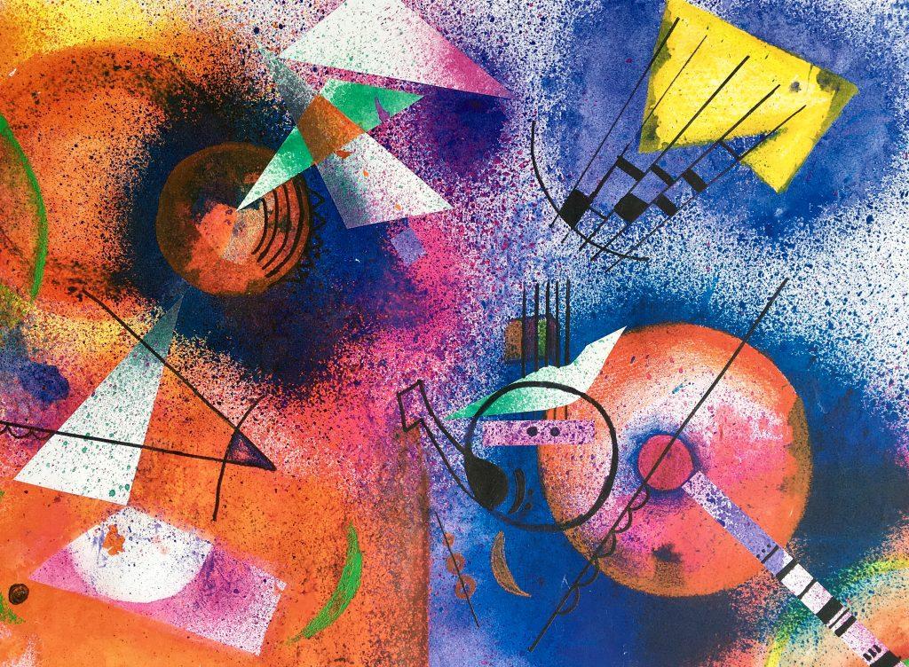 Kandinsky inspired artwork