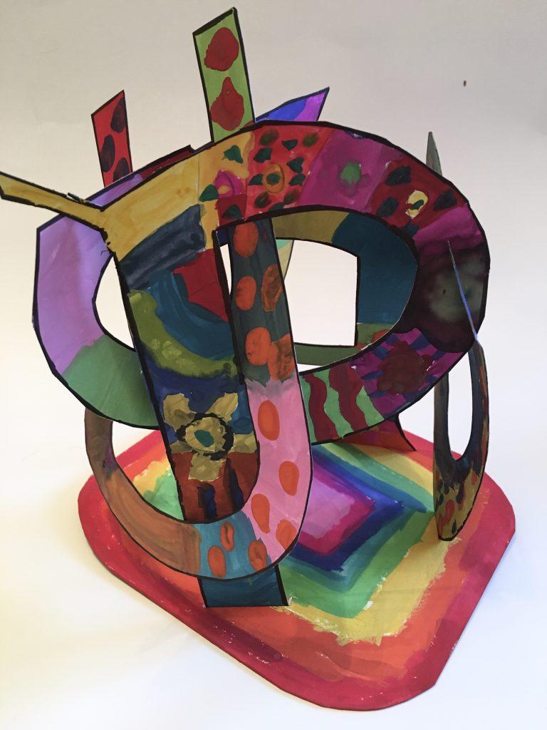 Name sculpture, word art
